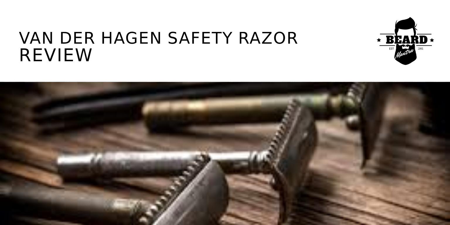Van Der Hagen Safety Razor Review