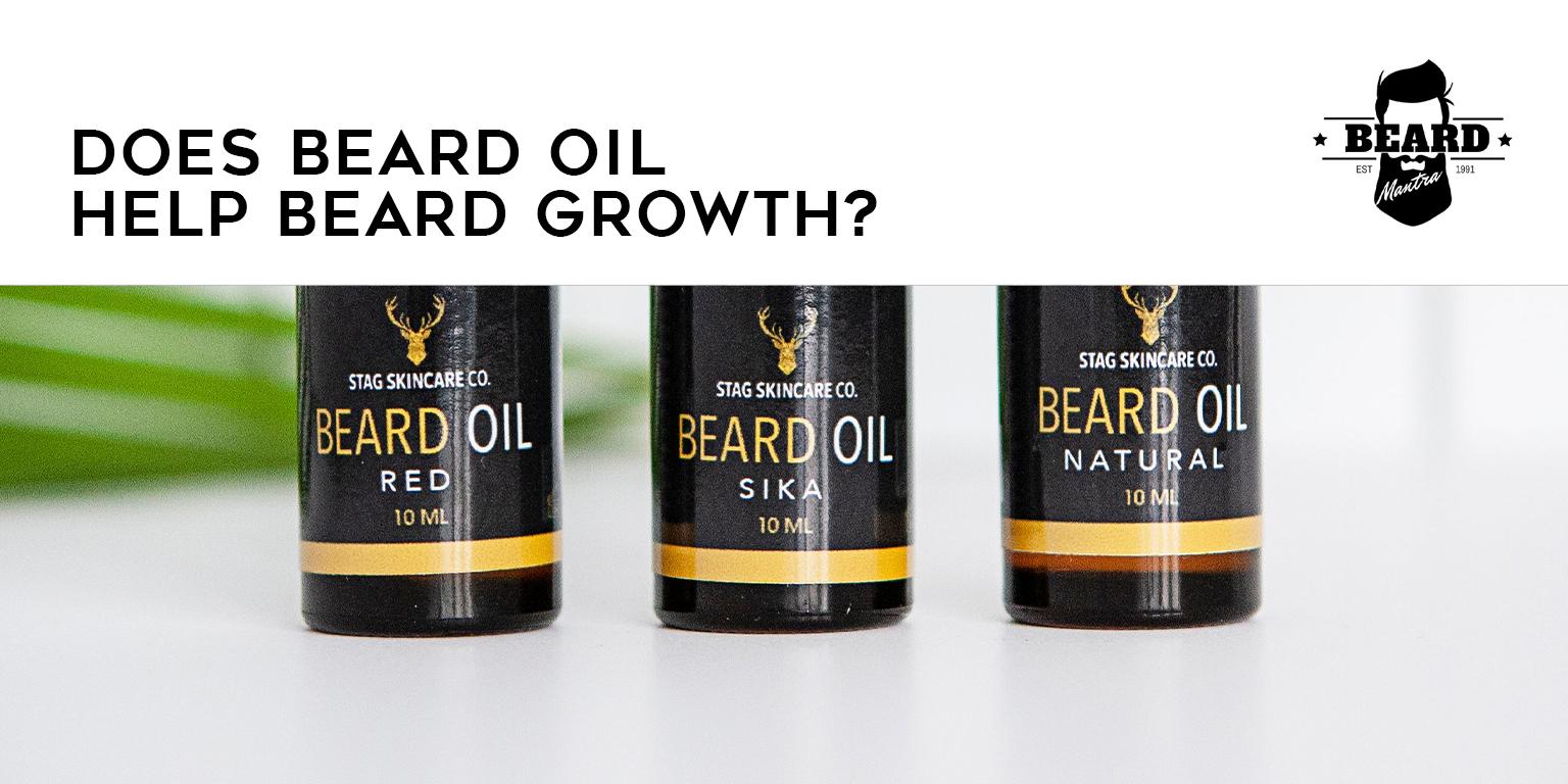 Does Beard Oil Help Beard Growth