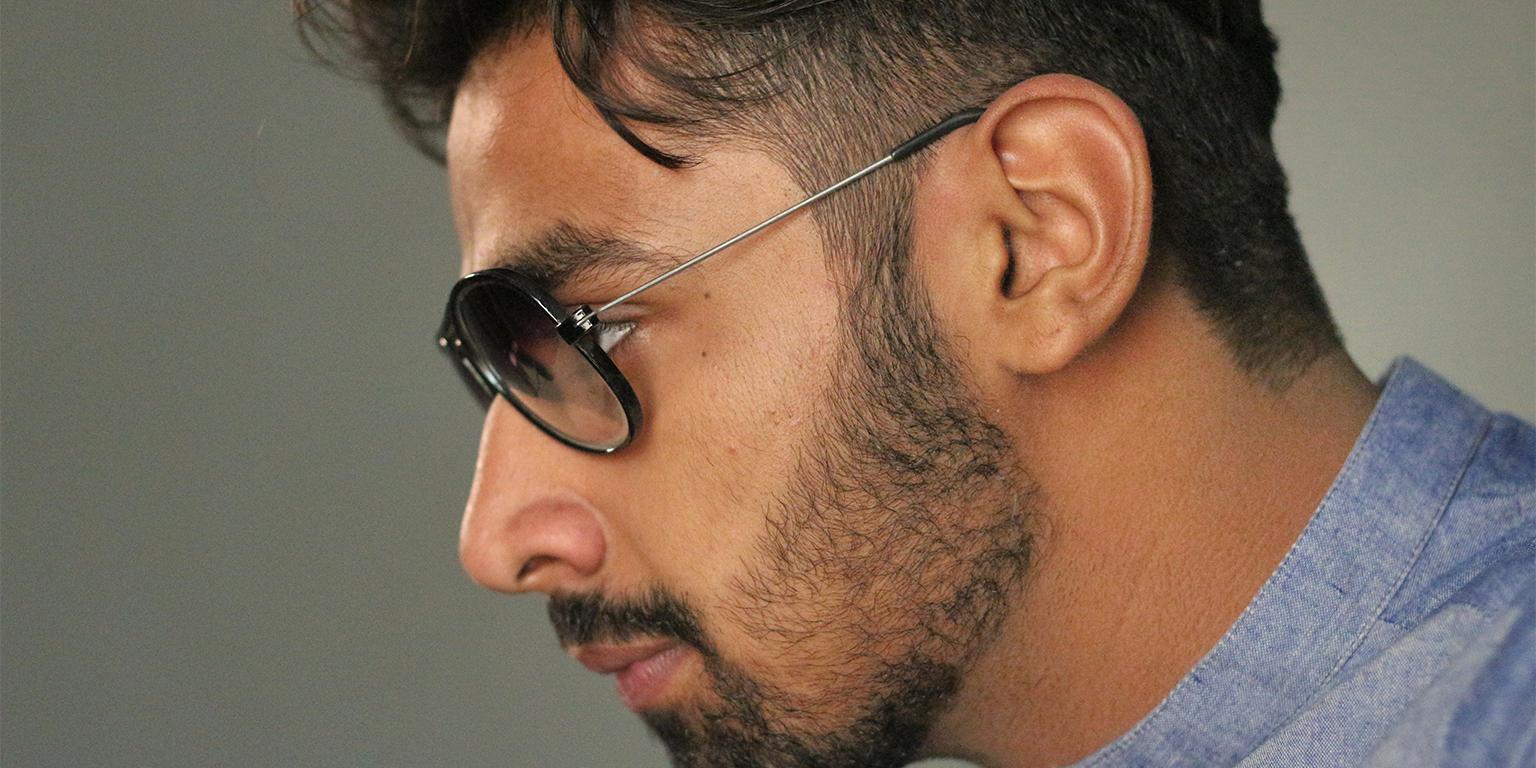 Acne under the beard