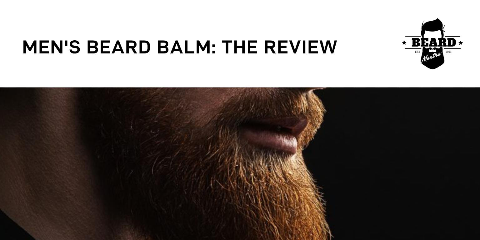 Men's Beard Balm The Review